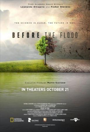 Before the Flood. Antes de que sea tarde.