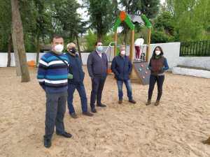 Nuevo parque infantil de Caracenilla