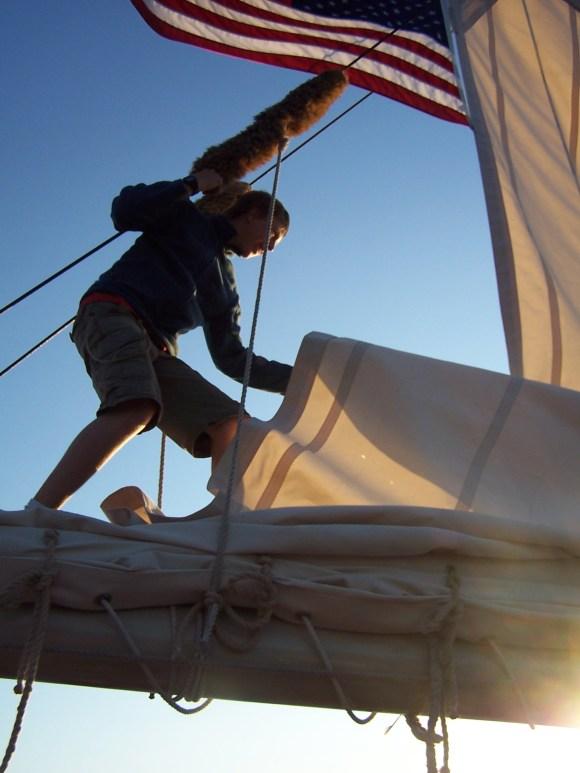 Tall ship sailor, https://huffygirl.wordpress.com, © Huffygirl 2012