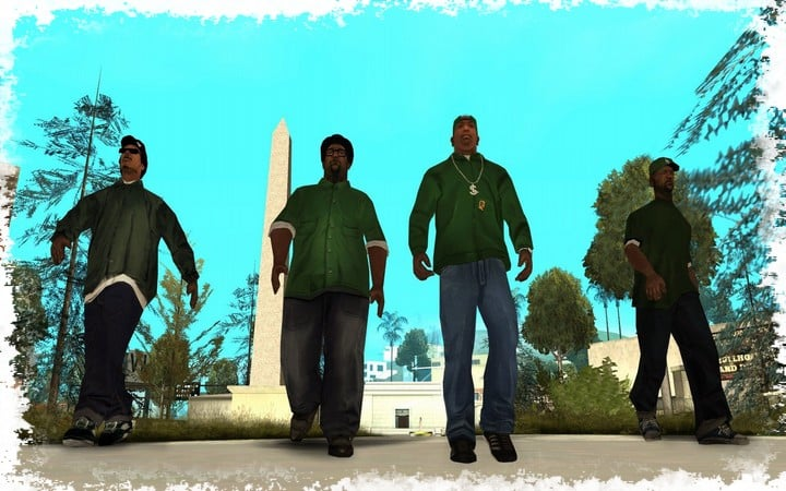 Wallpaper para Gta San andreas Mobile