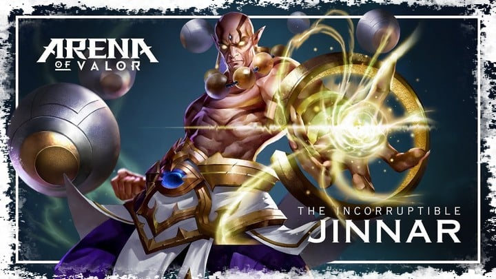 Jinnar arena of valor build