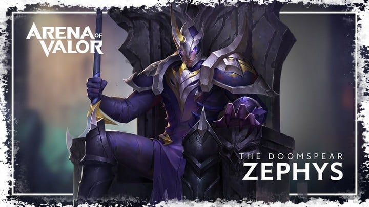 Zephys arena of valor build