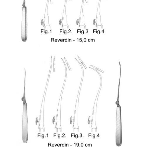 Ac de sutura Reverdin 15