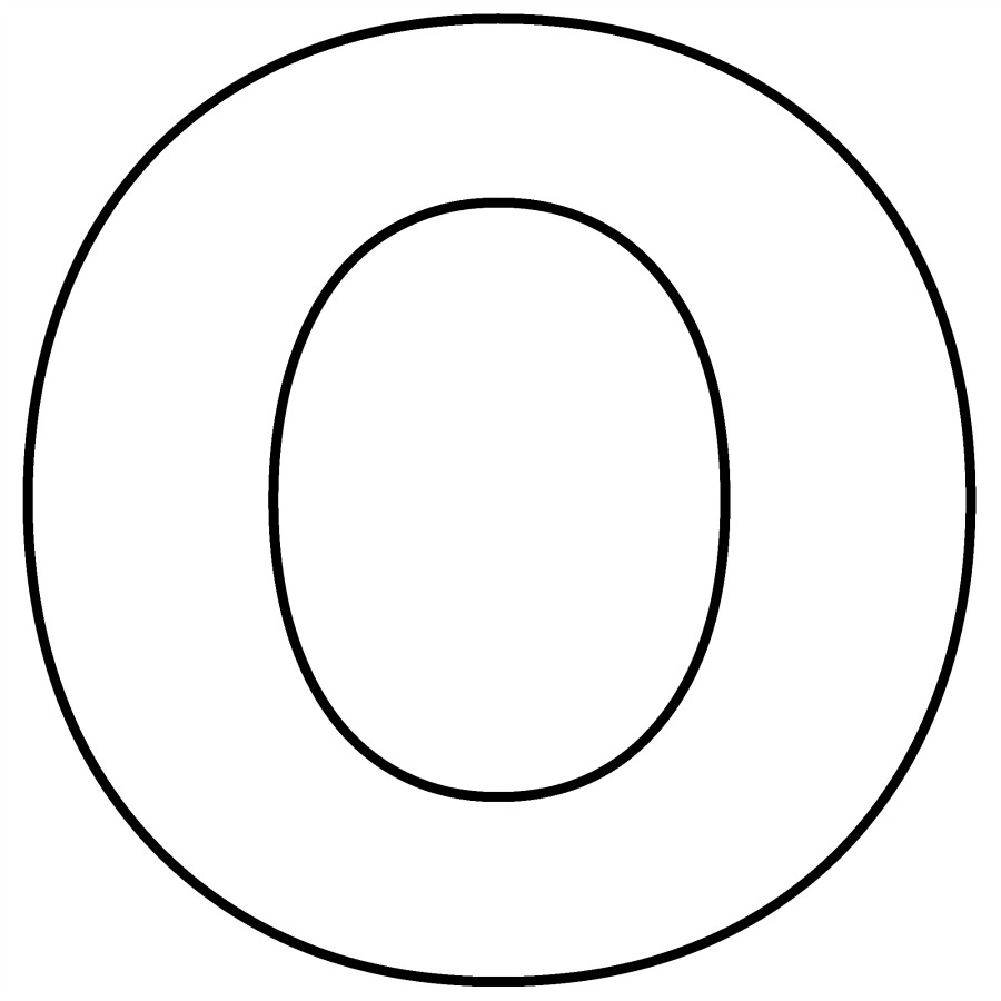 This is the letter 'o'