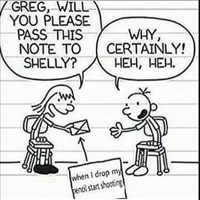 Greg will finally be happy