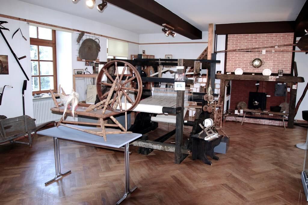Das Heimatmuseum Friedrichstal - Webstuhl