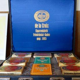 Zigarrenkiste der Firma Lacroix