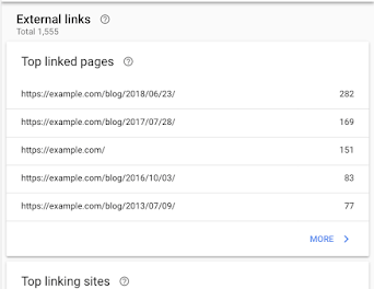 Links, Mobile Usability, and web site administration within the new Search Console