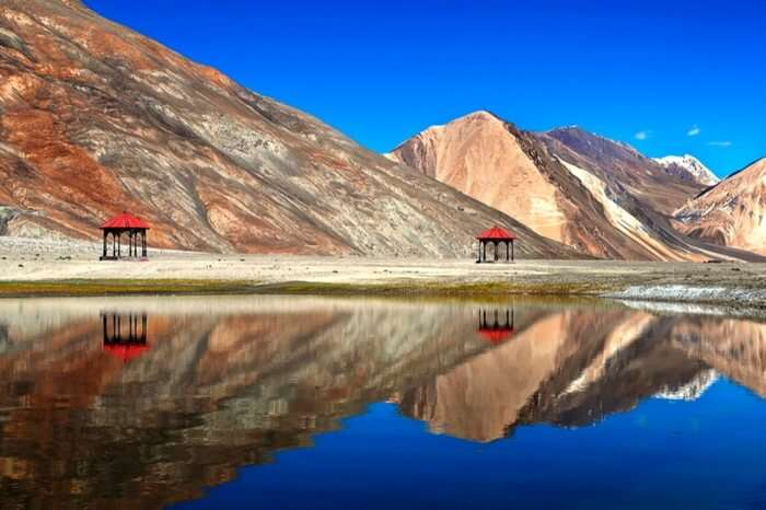 Autumn colors of Ladakh - one of the best places to visit in October in India