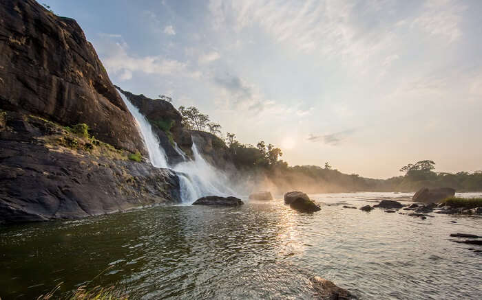 The gorgeous Athirappilly waterfall ss27062018