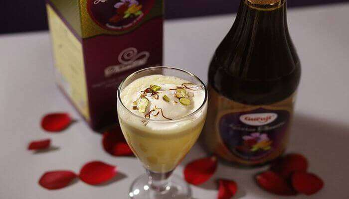 Incredible drink is full of dry fruits