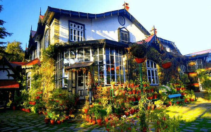 boutique hotel Chapslee in Shimla