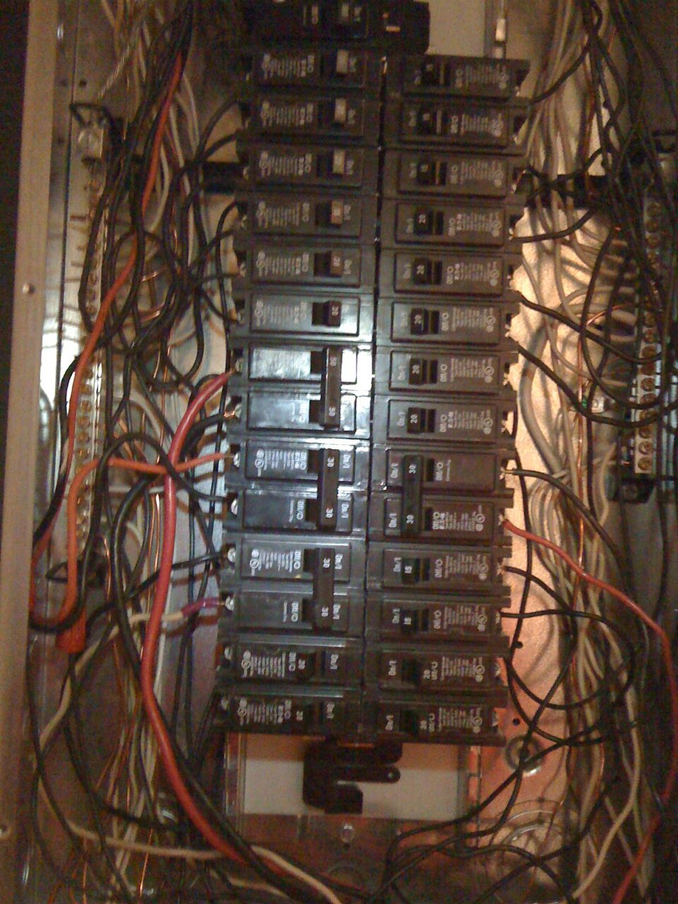 Circuit Breaker Wiring Diagram Further House Breaker Box Wiring