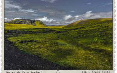 Postcards From Iceland, #16 – Green Hills
