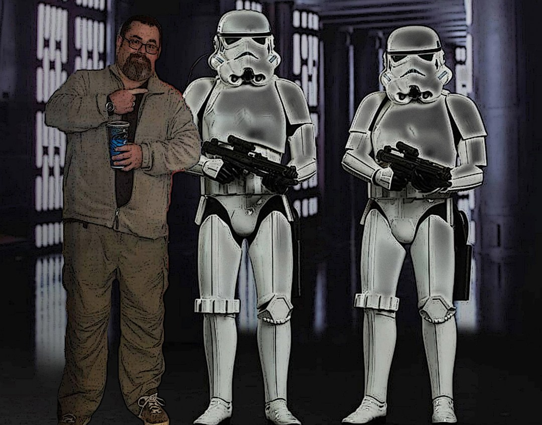 Author Hugh B. Long versus Stormtroopers