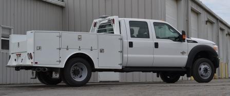Aluminum Flatbed Hauler Truck Body Ford
