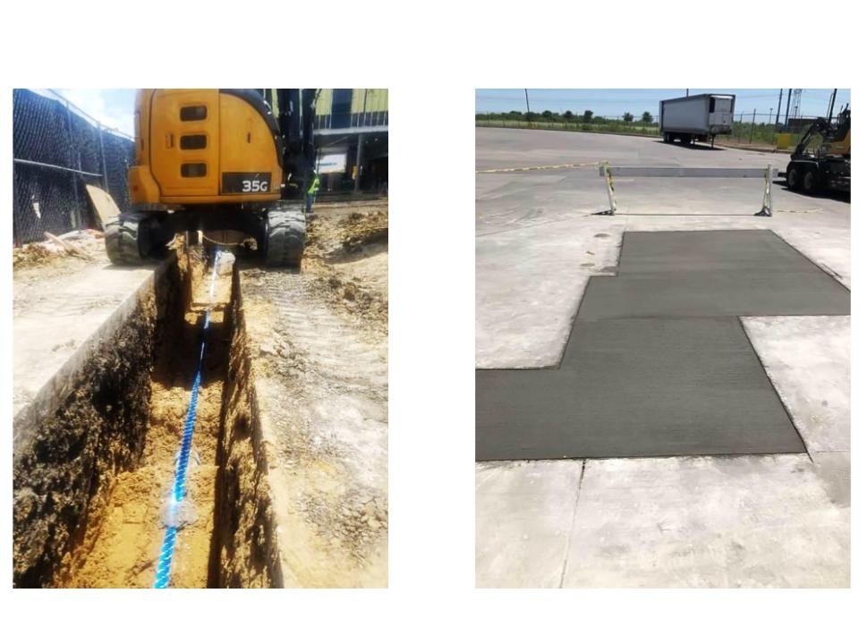 hughes excavating llc service fireline protection