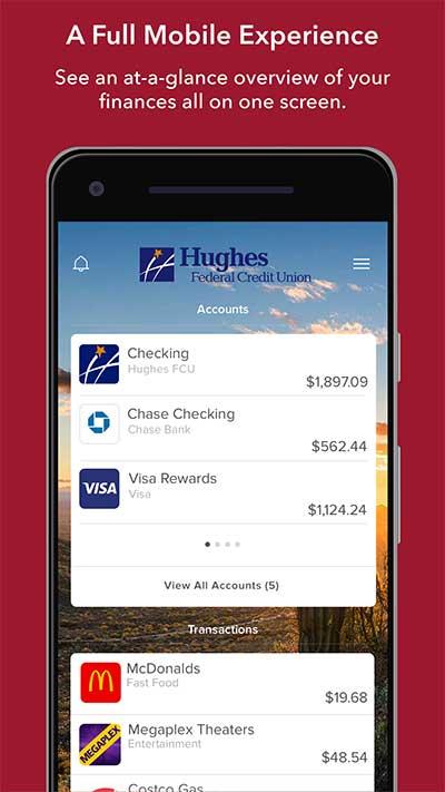 Hughes Payfast : hughes, payfast, Digital, Banking, Enrollment, Hughes, Federal, Credit, Union