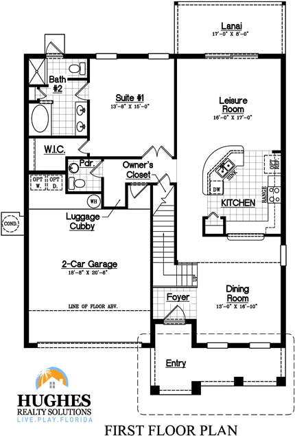 New 2,681 Sq. Ft. / 5 Bedroom / 4.5 Bath / Two Master