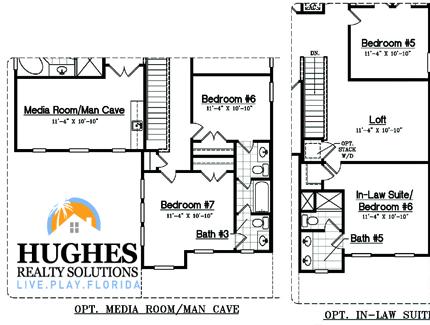 New 3,137 Sq. Ft. 5 Bedroom / 4 Bath / Family Room / Loft