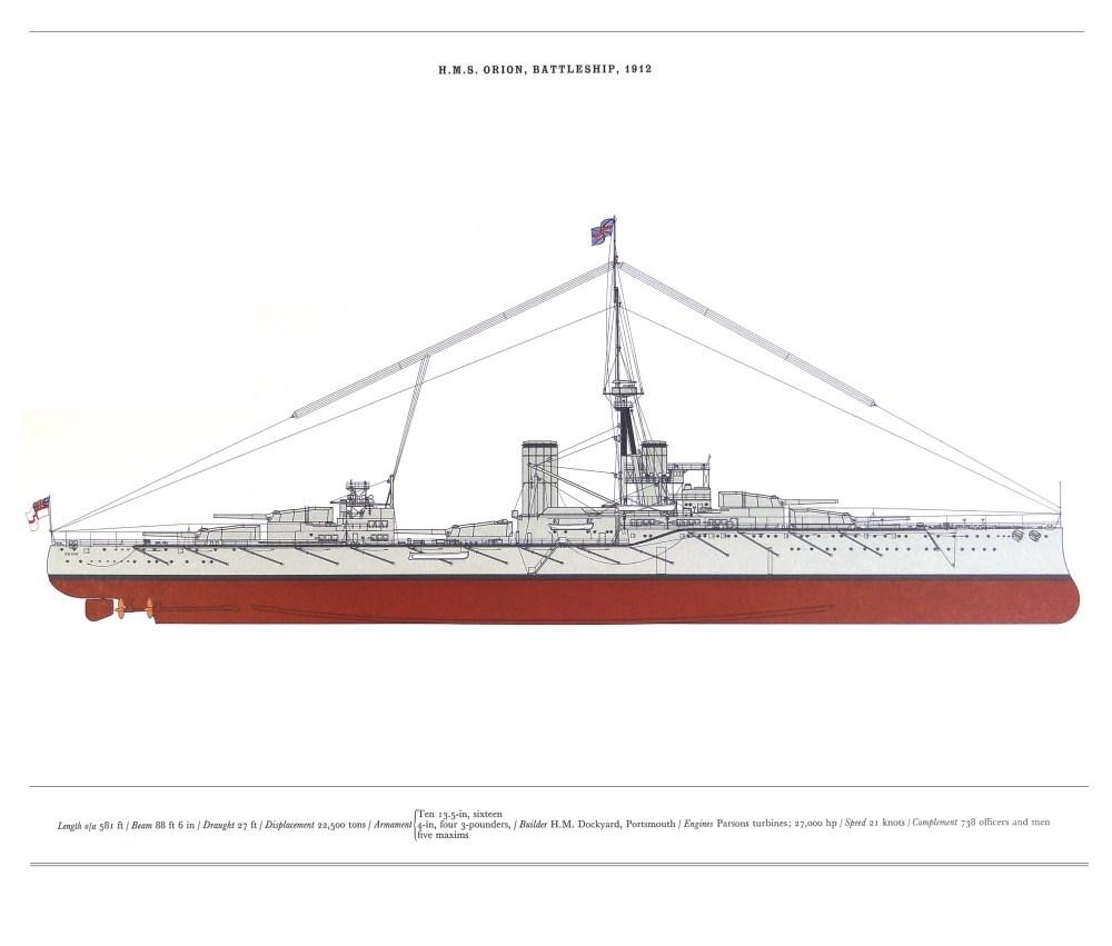 medium resolution of hms orion battleship