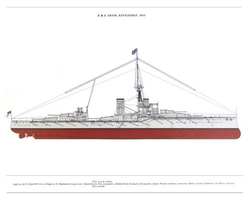small resolution of hms orion battleship
