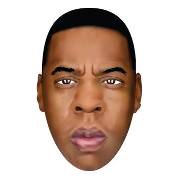 Jay Z Vector Illustration made in Adobe Illustrator CS6