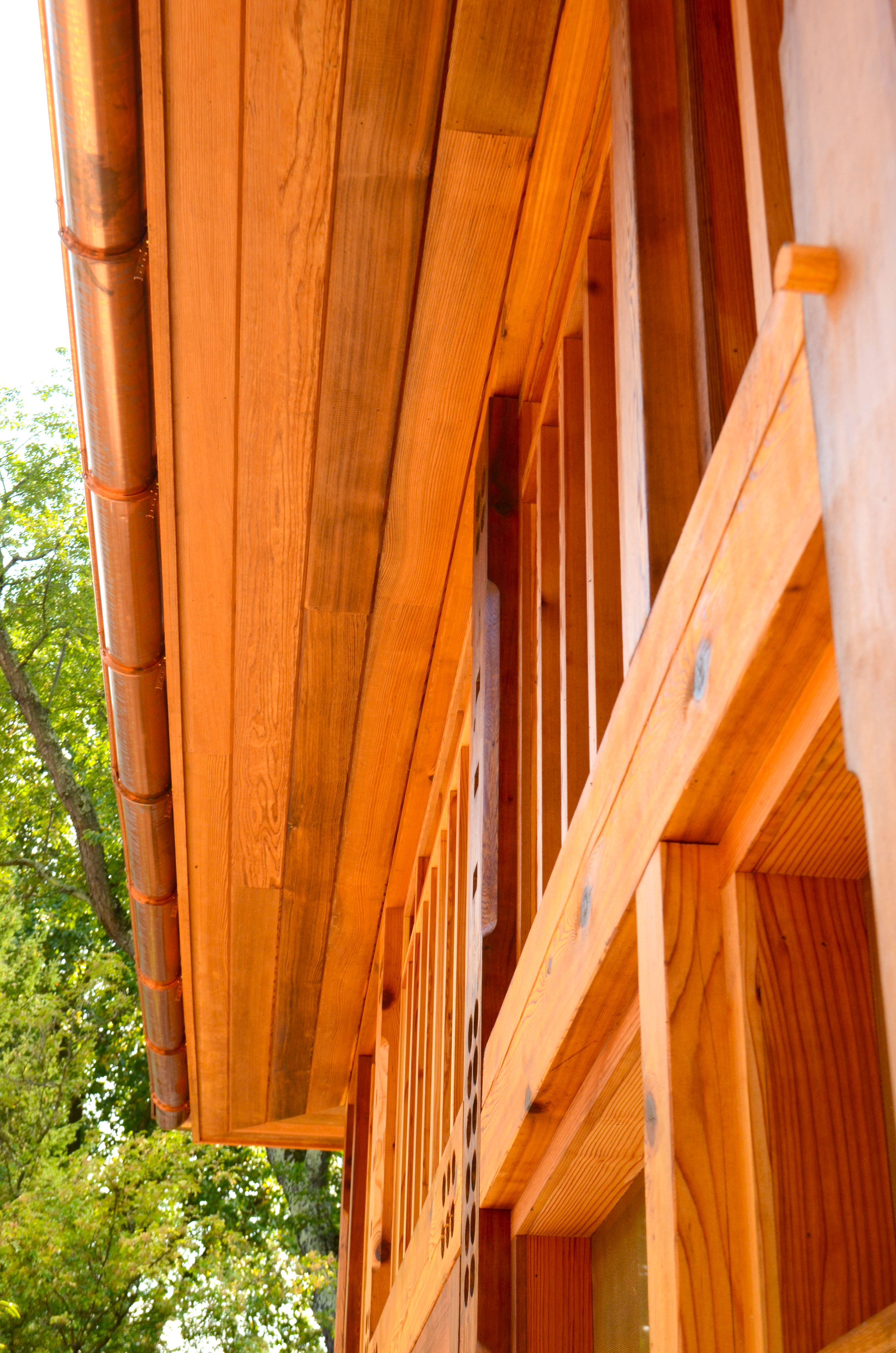 Timber Framed Screened In Porch