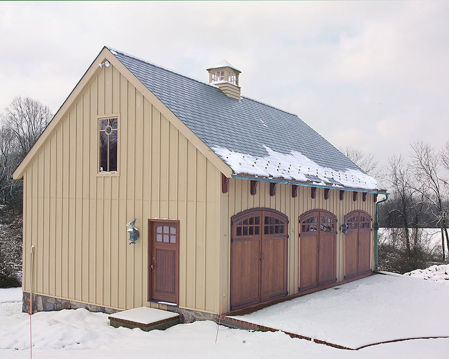 Carriage house for Building a carriage house