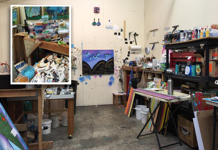Hugh's Studio