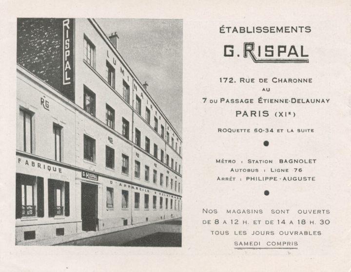Rispal présentée par Hugo Neumann en exclusivité en Belgique et Luxembourg