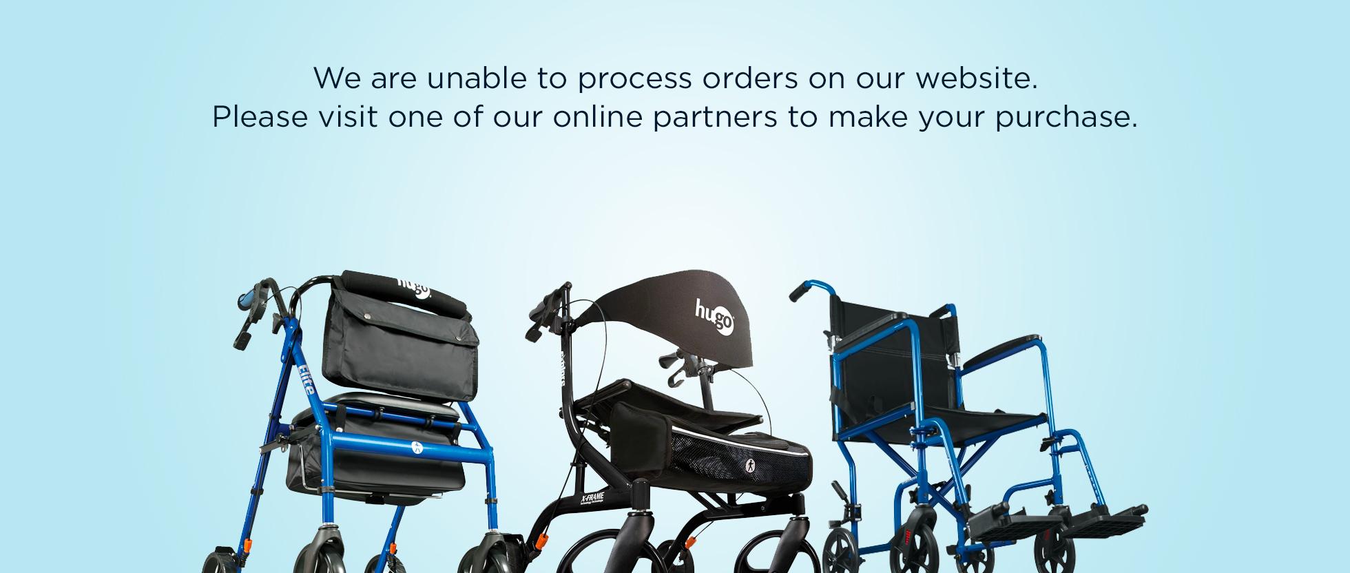 walker transport chair in one hugo navigator ergonomic kogan mobility  go anywhere