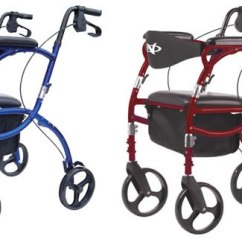 Walker Transport Chair In One Hugo Navigator Webbed Lawn Chairs Parts Mobility Rolling
