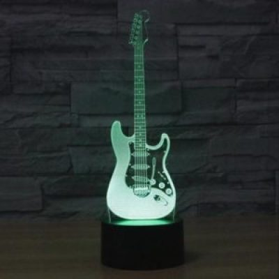 lampe 3D guitare elecrtique