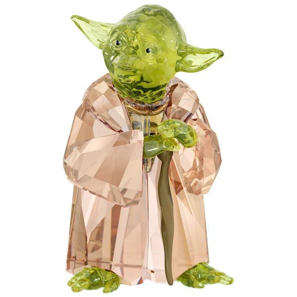 bijou star wars maitre yoda cristal