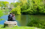 Love in Ørstedsparken - Copenhagen, Denmark
