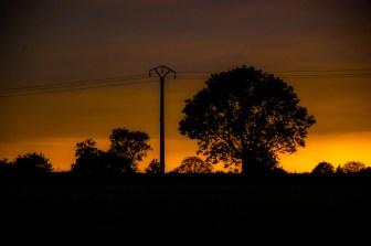 Sunset in Picardie