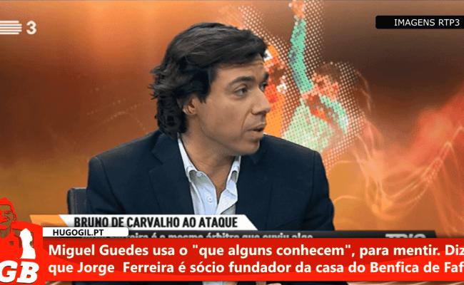 Miguel Guedes Inventa Que Jorge Ferreira é Sócio Da Casa