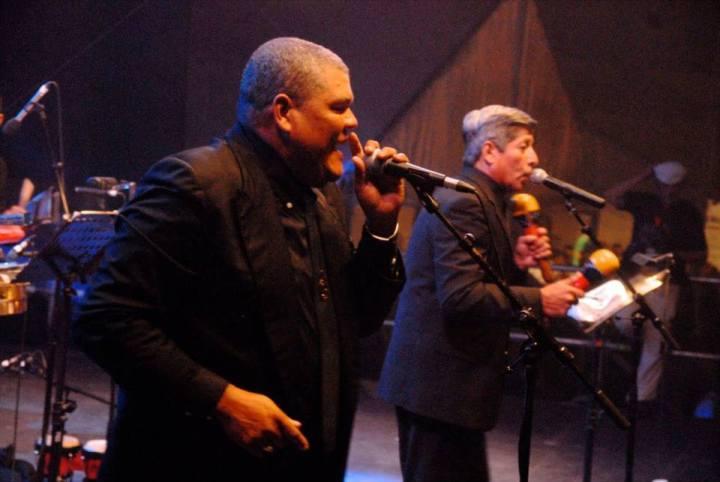 Nestor Contreras and Juan Carlos Mendez (singers)