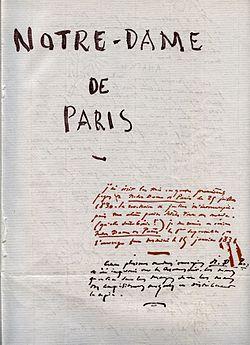 Victor Hugo Notre Dame De Paris Extrait : victor, notre, paris, extrait, Extrait, D'oeuvre-Notre, Paris, V.Hugo:, L'homme, Multiples, Facettes