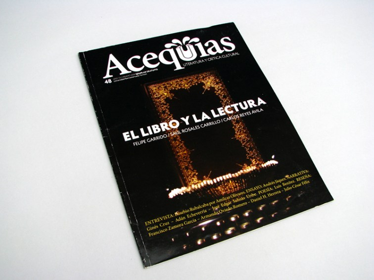 Acequias - Ibero Torreón, diseño editorial
