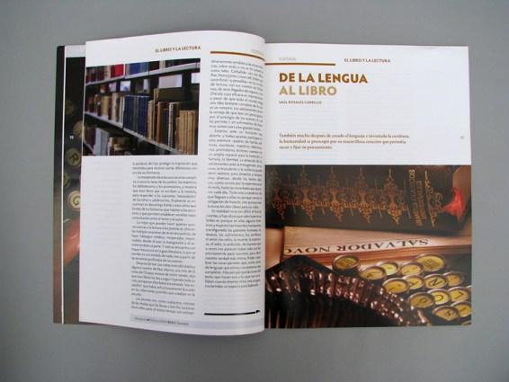 Acequias - Ibero Torreón, diseño editorial páginas interiores.