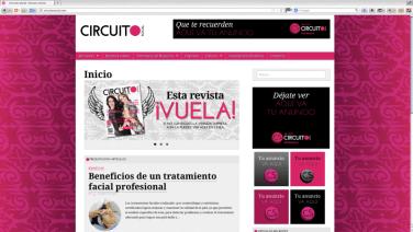 Diseño, realización y asesoría del concepto gráfico para una revista social, desde el aspecto editorial al web. Yurécuaro Michoacán. http://www.circuitosocial.com
