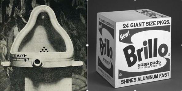 Duchamp og Warhol