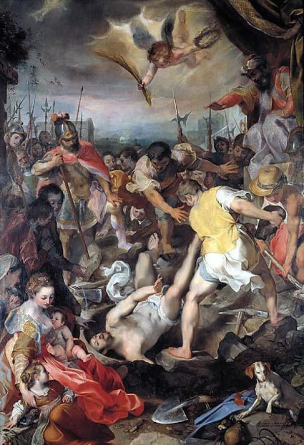 barocci-martirio-di-sanvitale