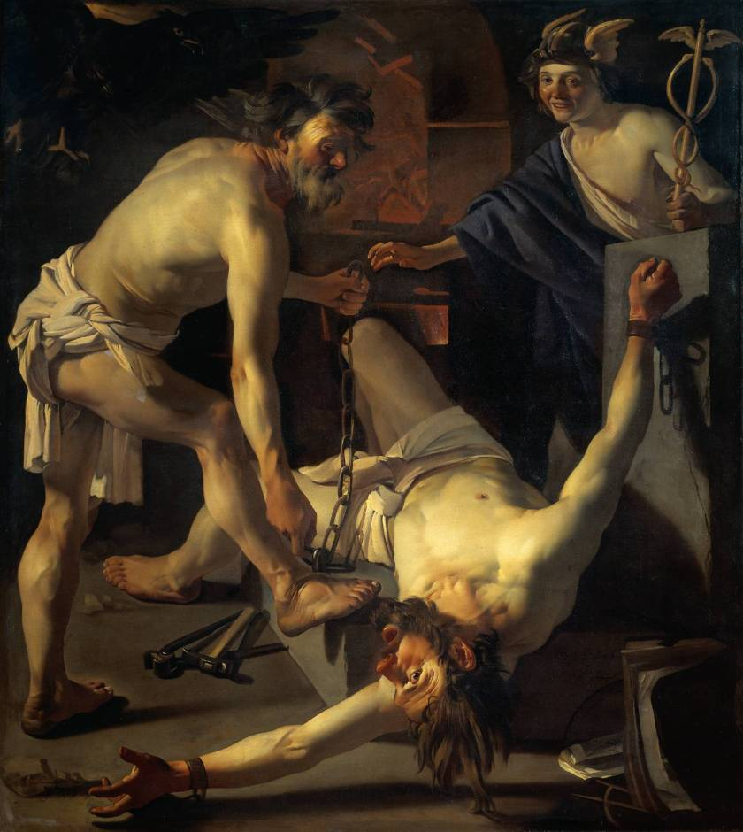 Baburen_Rijksmuseum_Prometheus_being_chained_by_Vulcan_1623