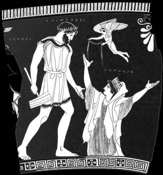 Pandora og Hefaistos