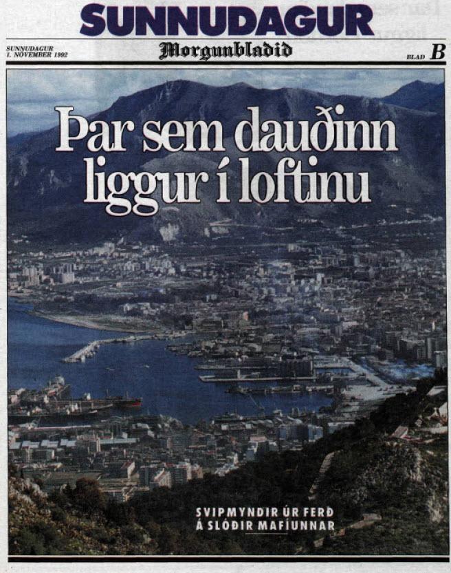 Ferðalag á slóðir mafíunnar