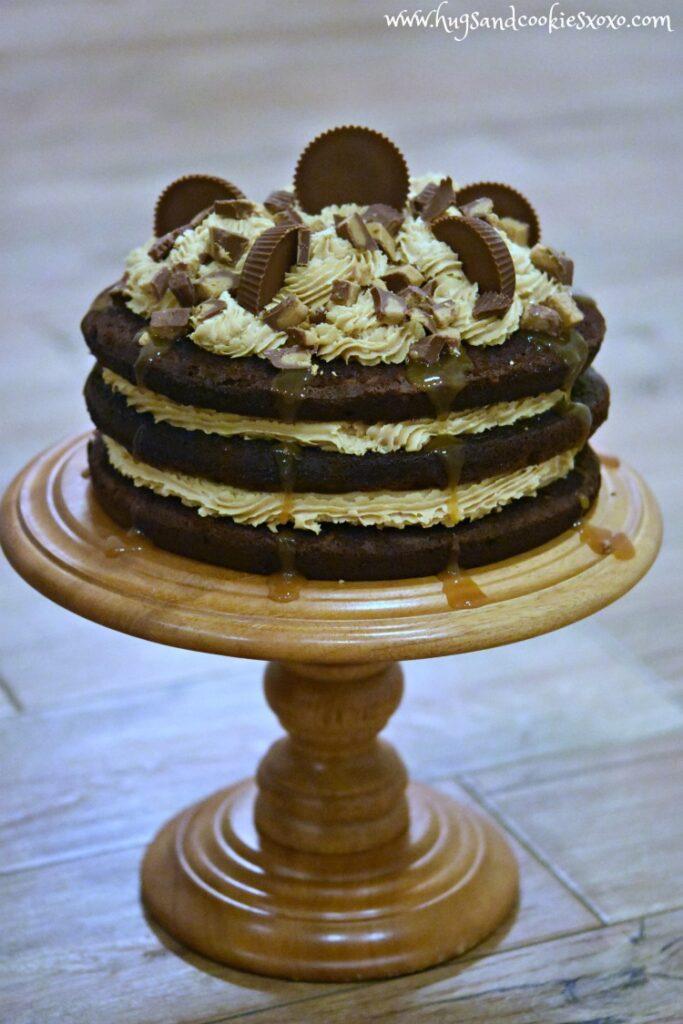 Reeses Triple layer Cake