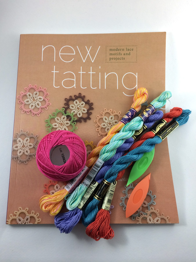 New Tatting Book Review by Hugs are Fun